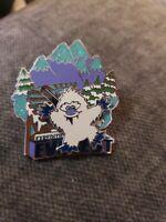 Disney World - Expedition Everest Cute Character Yeti Slider Animal Kingdom Pin