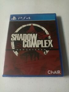 Shadow Complex Remastered (Sony PlayStation 4, 2016) sealed