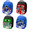 Football Lunch Bag Boys Lunch Box School Insulated Kids Personalised ALL TEAMS