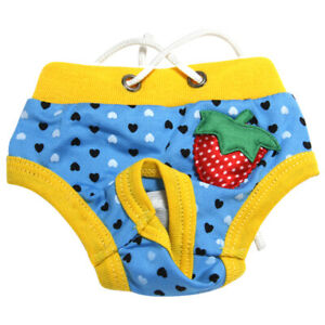 Hot Pet Physiological Pant Puppy Dog Cat Underwear Shorts Diaper Sanitary Briefs