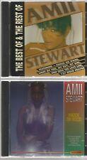 AMII STEWART  BEST OF REST OF IMPORT 2 CD's 1991 10 track KNOCK ON WOOD jealousy