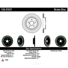 Single Axle Front Centric 908.39009 Disc Brake Pad and Rotor Kit-Select Pack
