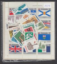1979 YEAR SET OF MINT NH STAMPS (NO BOOK) - FREE SHIPPING TO CANADA
