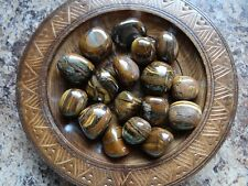TIGER IRON 1/4 Lb Gemstone Specimens Tumbled Wiccan Metaphysical