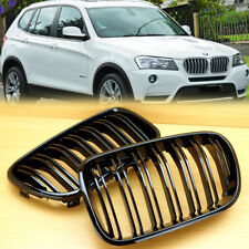 FIT BMW F25 X3 SUV M TYPE PRE-FACELIFT SHINY BLACK  FRONT GRILLE 2011-2013