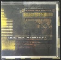 MEAT BEAT MANIFESTO-ANSWERS COME IN DREAMS-2010 2 LP HYDROGEN DUKEBOX-SEALED