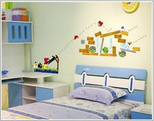 Angry Birds wall sticker child's room decoration, nursery wall art mural