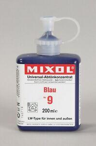 Mixol #9 BLUE Universal Tint 200ml Bottle