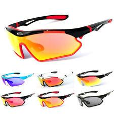 Sport Men Cycling Running Baseball Golf Sunglasses Wrap Around Sun Shade Glasses