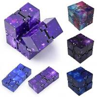 Cube Stress Fidget Toys Sensory Infinity For Autism Anxiety Relief Kids Adult