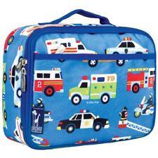 Wildkin Kids Blue Action Vehicles Lunch Box