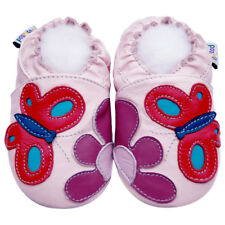 Littleoneshoes SoftSole Leather Baby Infant Kid Children GardenPink Shoes 0-6M