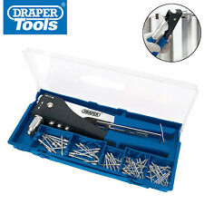 Draper 27848 2 Way Hand Riveter Kit Pop Rivet Gun Hand Riviter Tool (New 19782)