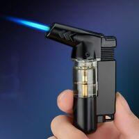 Keychain Turbo Lighter Spray Gun Butane Cigar Cigarette Windproof Gas Lighters