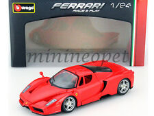 BBURAGO 18-26006 FERRARI ENZO 1/24 DIECAST MODEL CAR RED