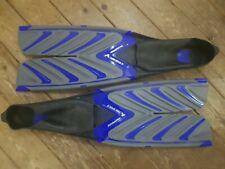 Scubapro Twin Speed FF Pool Fins - Blue  UK 10 / 11