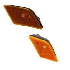 Front Left, Right Side Marker Turn Signal Lights Kit For Mercedes W204 W230 C250