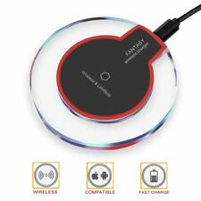 Wireless Charger Charging Pad for Qi-enabled iPhone/Android phones