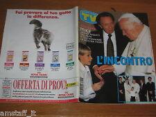TV SORRISI E CANZONI=1997/27=LUCIO BATTISTI=MIKE BONGIORNO=PAPA WOYTILA=