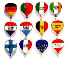 BALLON Pin / Pins - EUROEINFÜHRUNG 2002 / 12 PINS!!!!!!! (4074)