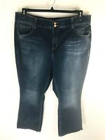 Lane Bryant Womans Sz 24W Regular Bootcut Jeans Denim Tighter Tummy Technology