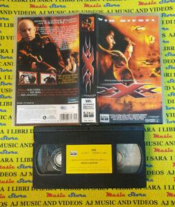 VHS film XXX Vin Diesel Asia Argento Rob Cohen COLUMBIA CC 74372 (F117) no dvd*
