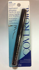 CoverGirl Liquid Pencil Felt Tip Eye Liner(  #620 BLACK BROWN ) NEW AND SEALED.