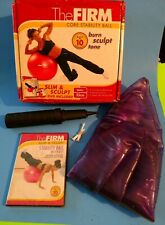 The Firm:Core Stability Ball/Slim & Sculpt(New Workout Dvd, 2013)Opened Box