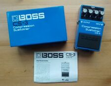 Boss CS3 Giappone 1987/Sustainer Compression CHITARRA EFFETTO PEDALE VINTAGE MIJ