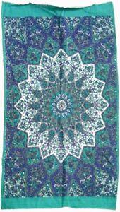 Floral Mandala Tapestry Bohemian Wall Hanging Tapestry,(POSTER (77X102CM)-91