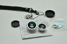 Wide Angle + Fish Eye Camera Lens for Mobile Phone Magnetic