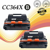 2 Pack CC364X 64X High Yield Toner For HP LaserJet P4015 P4015n P4515tn P4515n
