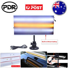 PDR LED Line Board Paintless Dent Removal 3-Strips Lamp Hail Repair Tool Kit AU
