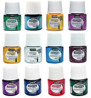 Pebeo Vitrea 160 Permanent Oven Bake Wash Resist Glass Paint 45ml - 36 Colours