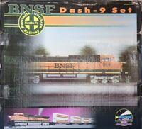 MTH O Gauge BNSF Dash-9 Diesel 4-car Husky Stack Set #20-2172-1U