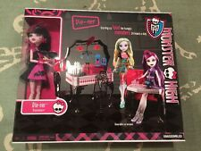 Monster High Die-ner Play Set with Draculaura Doll New In Box
