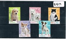 Australia 2004 Cats & Dogs 5 Values Fine Used     E517