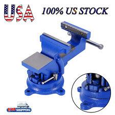 "4"" Craftsman Bench Vise Grip Clamp Locking Base Mechanics Tool Workbench Steel R"