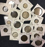 Amazing ESTATE Deal Rare Date Foreign & U.S. Coins In This Huge Lot, Up To $150.