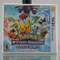 Pokemon Mystery Dungeon: Gates to Infinity (Nintendo 3DS, 2013) Complete