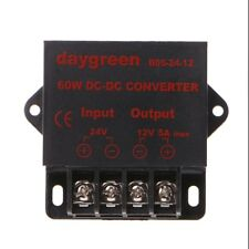 DC 24V To 12V 5A 60W Converter Step Down Regulator For Low Voltage Transformer