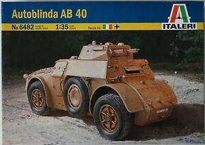 Italeri 6482 1/35 Fiat Autoblinda AB.40 model kit