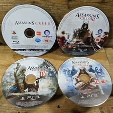 Assassin's Creed Bundle: 1 2 & 3 Brotherhood (Playstation 3) *DISCS ONLY*