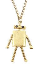 Retro 50s Robot Costume Jewellery Necklace