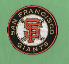 "New San Francisco Giants 'Black Round  3 "" Iron on Patch Free Shipping"