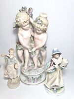 3 vintage porcelain figurines 1 Classic Gallery Collection all marked