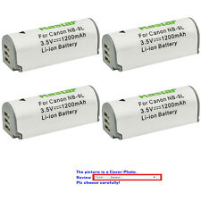 Kastar Replacement Battery for Canon NB-9L CB-2LB & Canon IXUS 1000 HS Camera