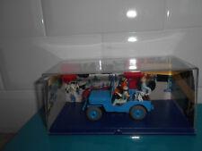11.02.18.1 Voiture Tintin objectif lune 1/43 La jeep bleue