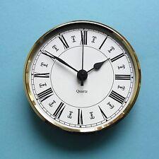 MEGA-QUARTZ  PREMIUM 100mm BEZEL QUARTZ CLOCK insert white roman dial