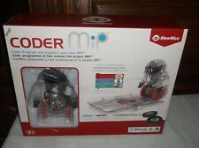 WowWee - Coder MiP the STEM-based Programmable Toy Robot - Transparent